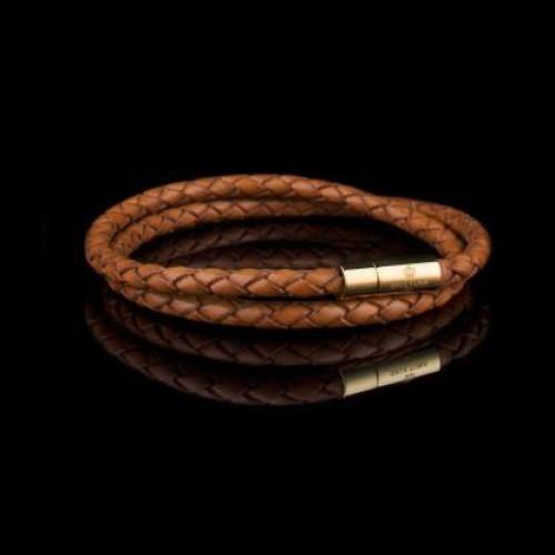 SKULTUNA - Leather Bracelet - Light Brown
