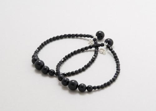Saskia Diez - Drop Earrings Black - Onyx
