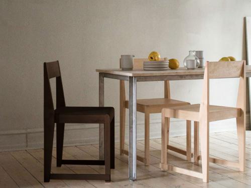 Frama - Chair 01   Dark Wood