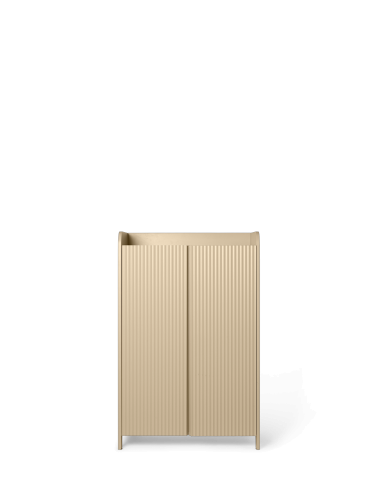 ferm LIVING - Sill Cupboard Low - Cashmere
