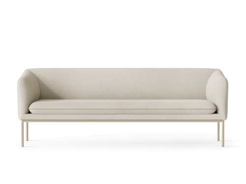 ferm LIVING - Turn Sofa 3 - Cashmere - Boucle - Off-White