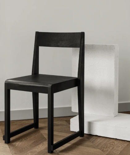 Frama - Chair 01   Ash Black Wood