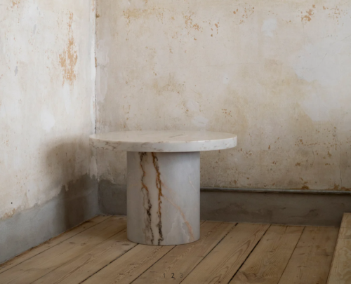 Frama - Sintra Table   Marble Edition   White (L)