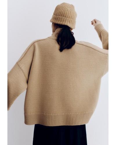 Cordera AW21 - Soft Wool Beanie - Camel